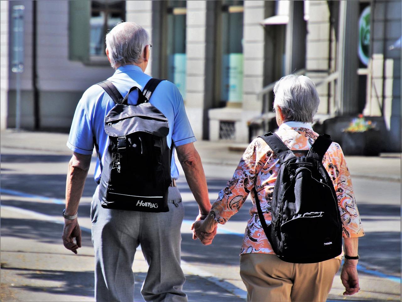 זוג זקנים