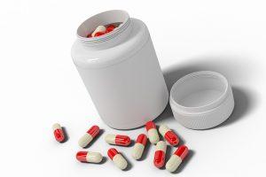 תרופות בקפסולה בקופסה